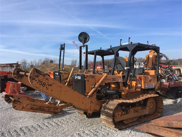 1980 CASE Cable Plow, Vibratory For Sale In Brownsville