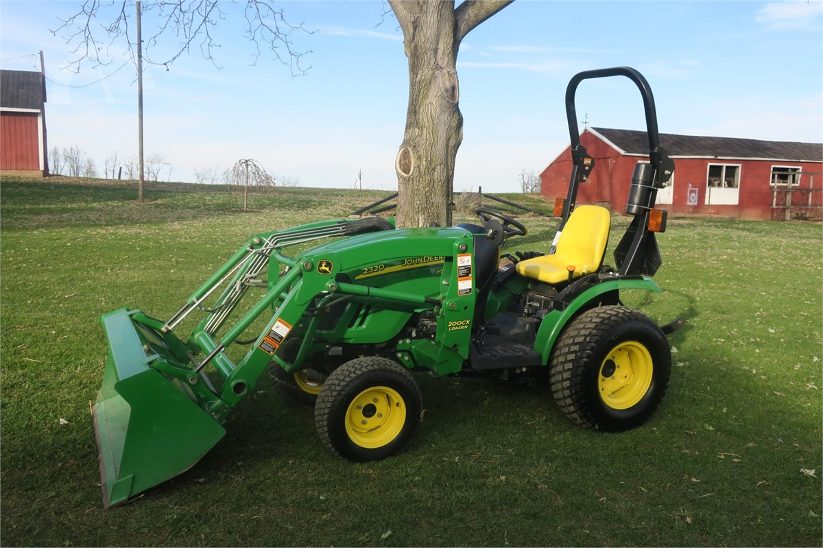 john deere 2320 online auctions. Black Bedroom Furniture Sets. Home Design Ideas