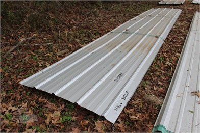 Lot Of (31Pcs) 339 Lf Metal Roofing/Siding Other Auction