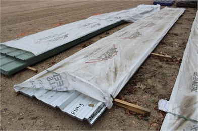 LOT OF (25PCS) 623 LF METAL ROOFING/SIDING Other Auction