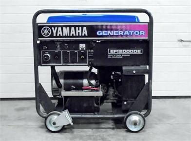 YAMAHA EF12000DE For Sale - 2 Listings | MachineryTrader.com ... on