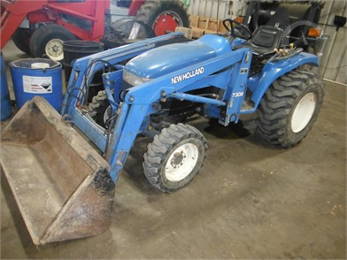 NEW HOLLAND Less Than 40 HP Tractors Online Auction Results