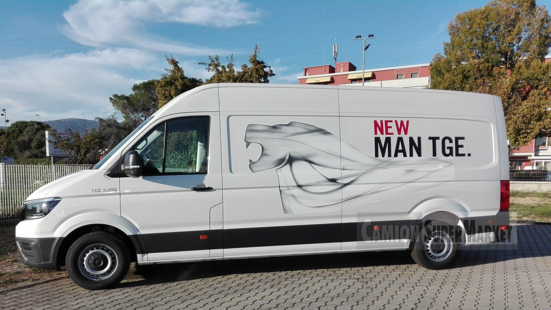 MAN TGE3.180 Usato 2017