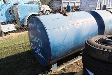 500 Gallon Fuel Tank Skd Mtd Storage Bins - Liquid/Dry