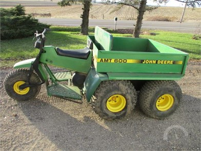 JOHN DEERE Utility Vehicles Auction Results - 457 Listings
