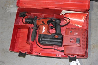 HILTI TE6 36V HAMMER DRILL W/ CHARGER Other Auction Results