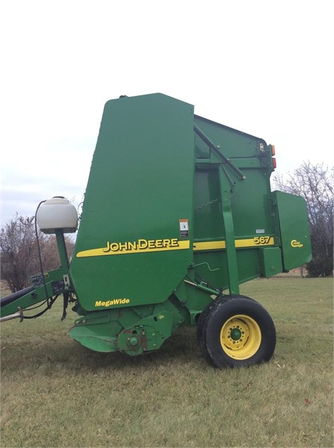 2005 JOHN DEERE 567 For Sale In Middlebury, Vermont
