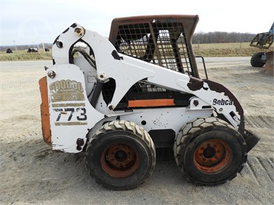 BOBCAT 773 Online Auction Results - 11 Listings