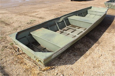Alumacraft 14' Alum. Boat Only Other Auction Results - 1 ... on