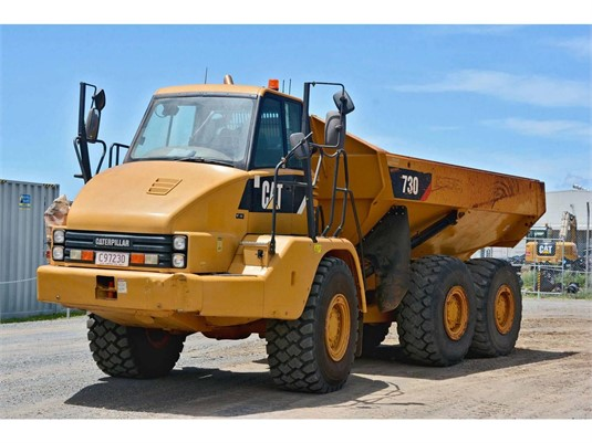 2011 Caterpillar 730 - Heavy Machinery for Sale