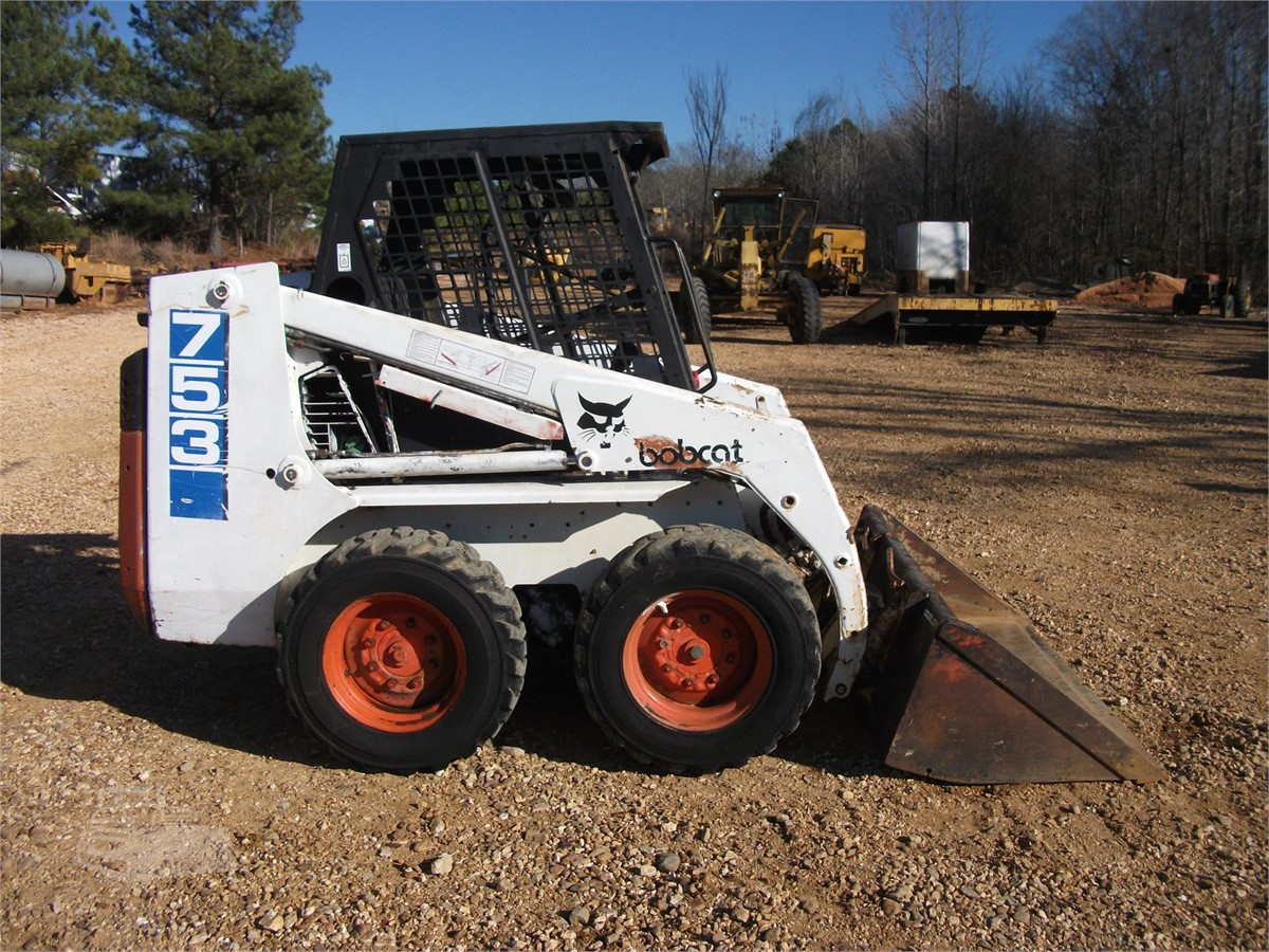 1995 BOBCAT 753 For Sale In Finger, Tennessee