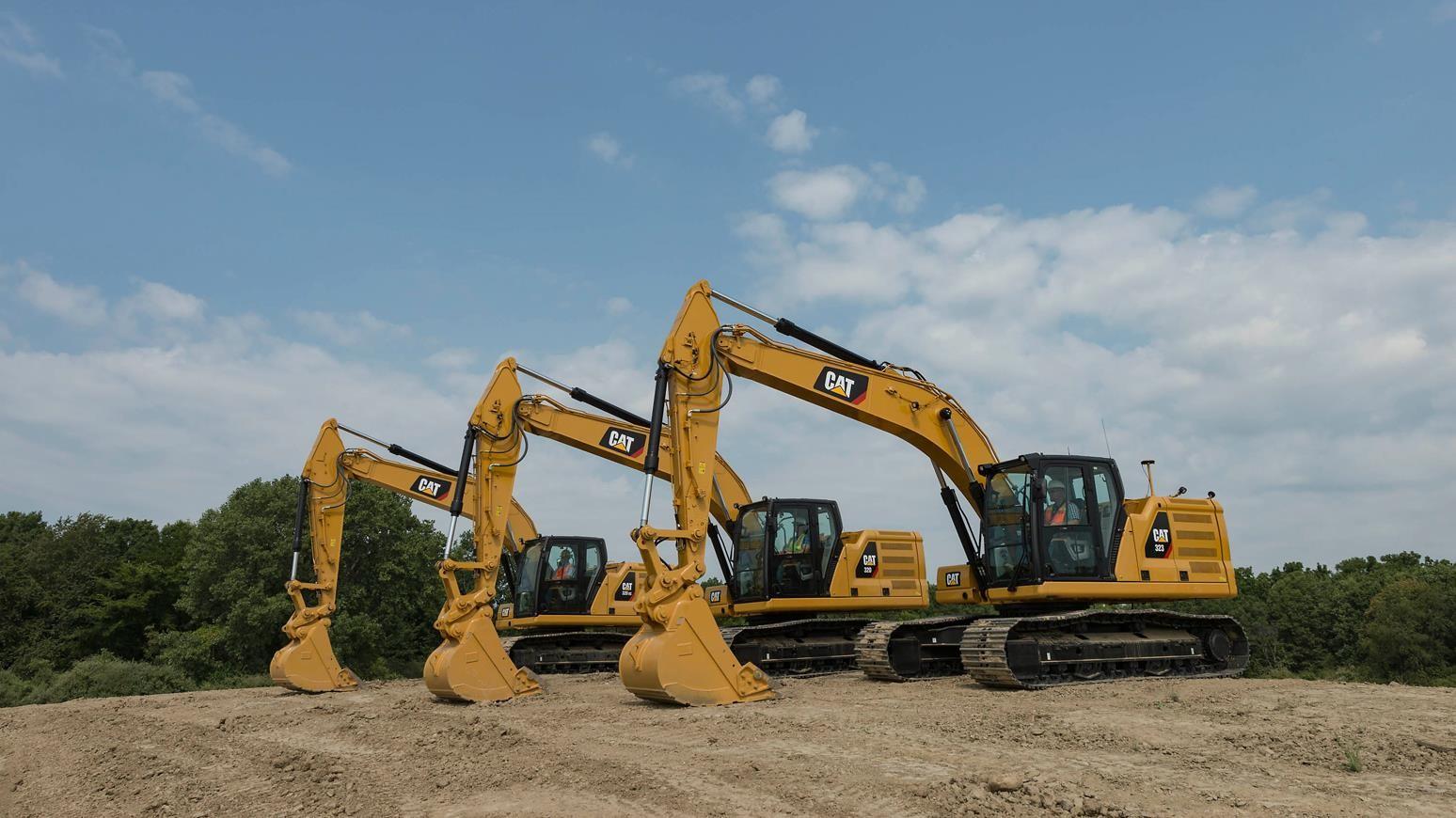 Caterpillar Releases New 20-Ton Size Class 320 GC, 320 & 323