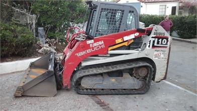 TAKEUCHI Construction Equipment For Sale In Santa Maria