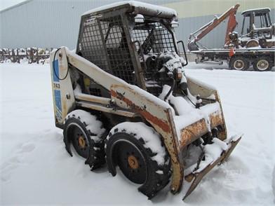 bobcat 743 at machinerytrader com