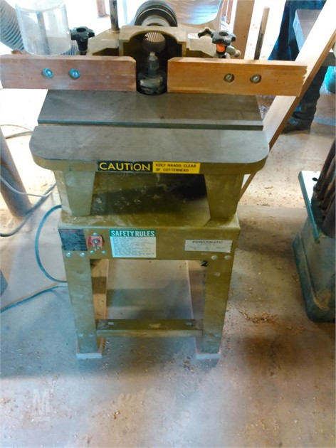 MarketBook co tz   POWERMATIC #23 SPINDLE SHAPER Online Auction Results