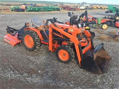 KUBOTA Less Than 40 HP Tractors Online Auction Results - 344