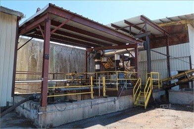 Approx 18'W X 16'L Steel Cover (Over Pumps) Other Auction Results