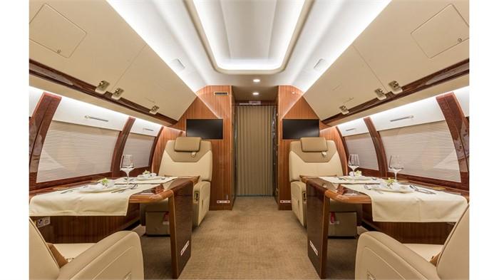 Sukhoi Introduces SSJ100 Business Jet With VIP Configuration
