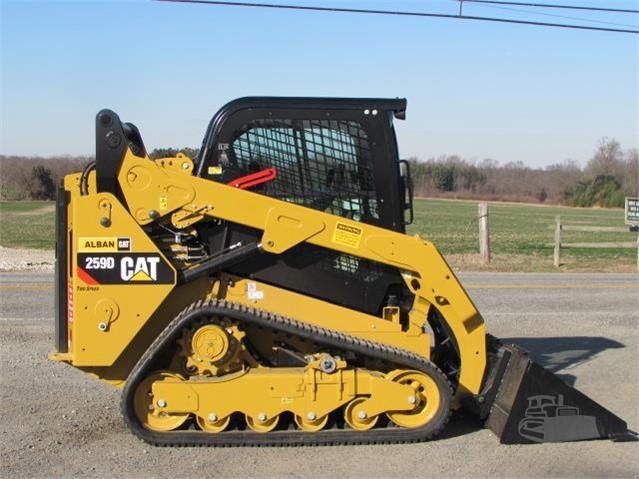 2018 CAT 259D For Sale In Elkton, Maryland | MachineryTrader com
