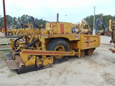 Blaw-Knox Asphalt / Pavers / Concrete Equipment Auction