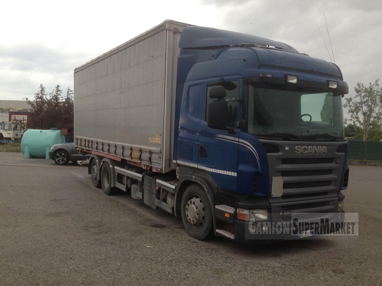 Scania R420 used 2004