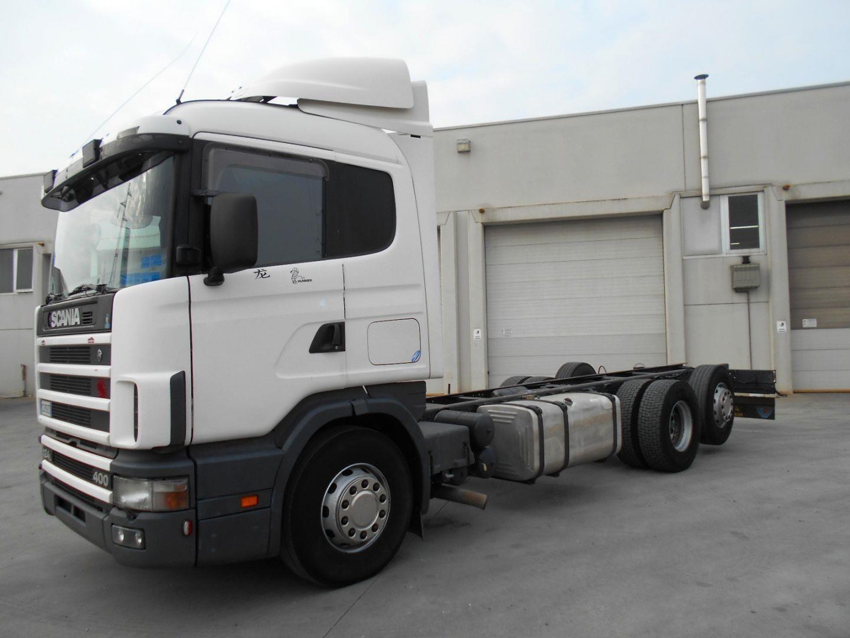 Scania P124L400 Usagé