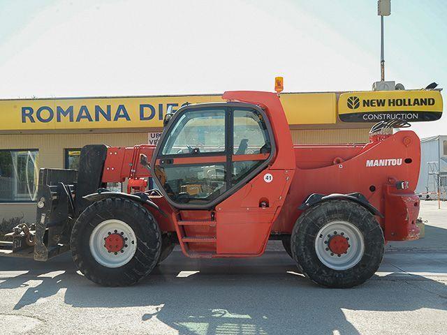 Manitou MHT10120L Usato 2007 Lazio