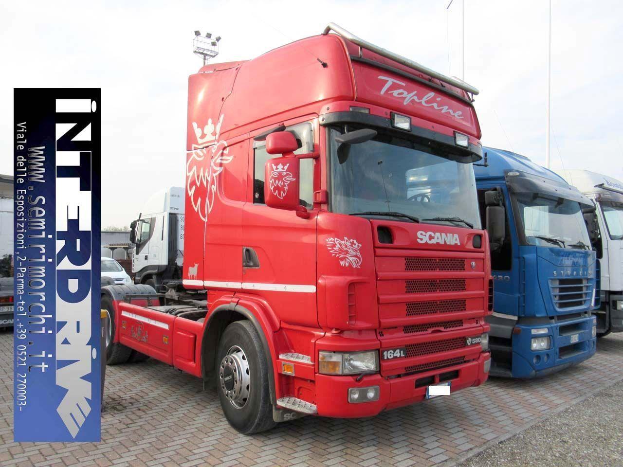 Scania P164L580 Usato