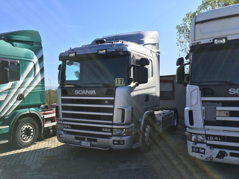 Scania P124L420 #Used