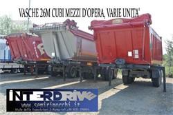 Minerva Semirimorchi Vasche Ribaltabili Mezzi D'opera Usat  Uzywany
