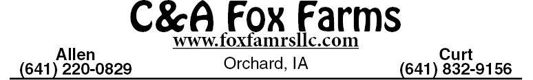 C&A Fox Farms LLC