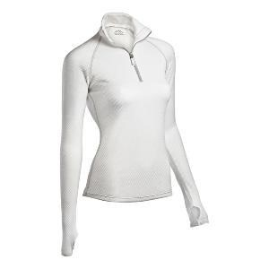 34551a2dd COLDPRUF WOMEN'S HONEYCOMB BASE LAYER 1/4 ZIP MOCK NECK TOP at MarketBook.co