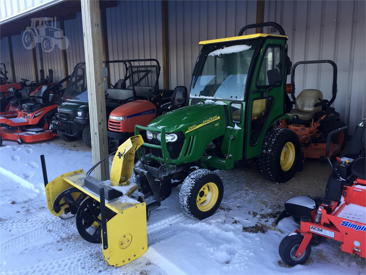 2009 john deere 2320 for sale in durand illinois. Black Bedroom Furniture Sets. Home Design Ideas