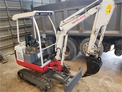 TAKEUCHI Mini (Up To 12,000 Lbs) Excavators Auction Results