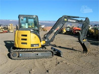 DEERE Mini (Up To 12,000 Lbs) Excavators For Sale In Grand