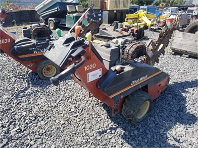 DITCH WITCH 1020 WALK BEHIND TRENCHER Other Auction Results