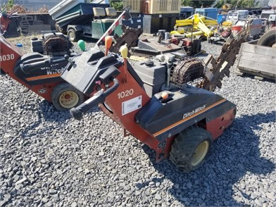 Ditch Witch 1020 Walk Behind Trencher Other Auction Results In ... on