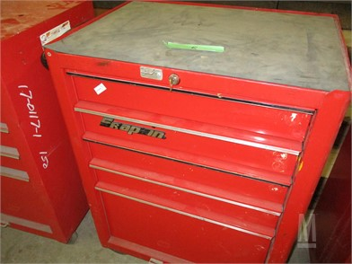 Snap-On Workbenches / Tables Shop / Warehouse Auction Results - 2