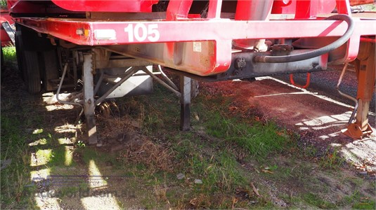 1988 Nolist 10.4M Skeletal Tipping Trailer - Trailers for Sale