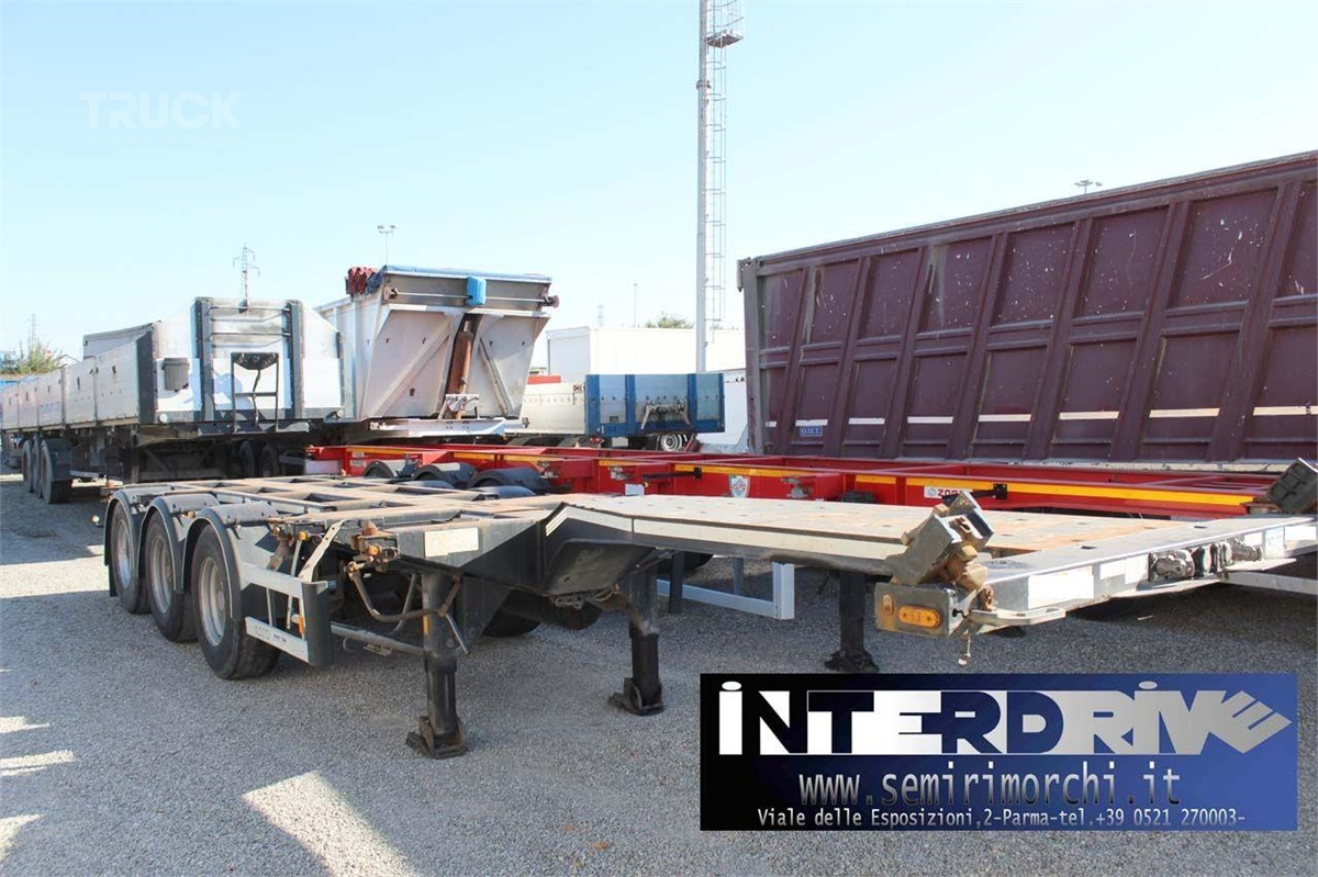 D-TEC semirimorchio allungabile portacontainer