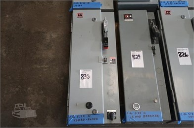 CUTLER HAMMER SIZE 0 STARTER (FUSED) IN CABINET Auction