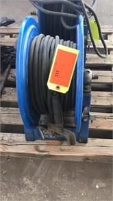 BLUE REEL W/ WELDING LEAD HOSE Other Auction Results - 1