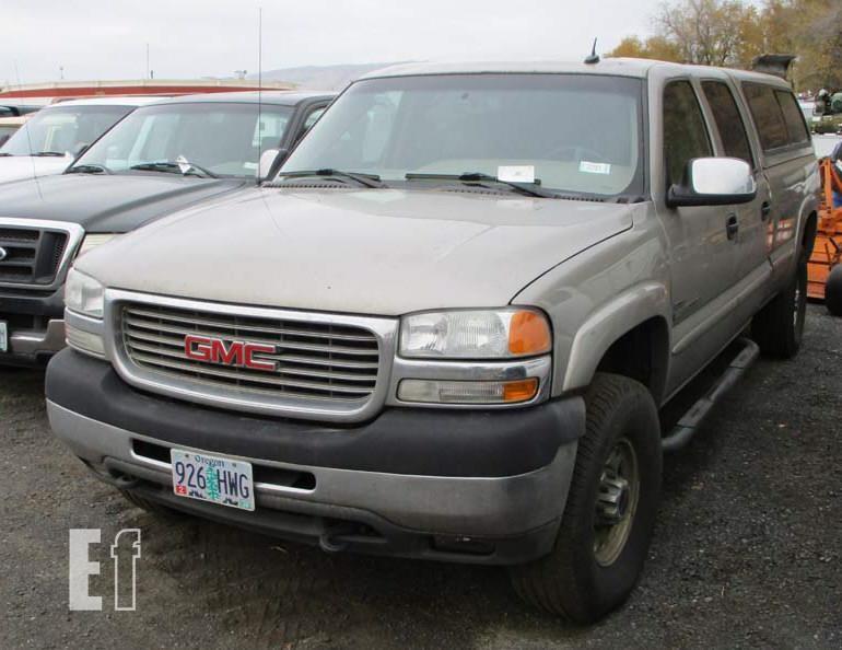 equipmentfacts com 2002 gmc sierra 2500hd online auctions 2002 gmc sierra 2500hd