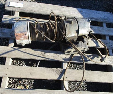 ELECTRIC 12 VOLT WINCH Other Auction Results - 1 Listings ... on