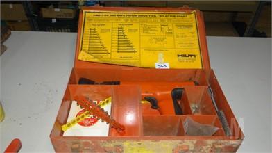 363 Hilti Dx Tools/Hand Held Items Resultados Leilões - 1