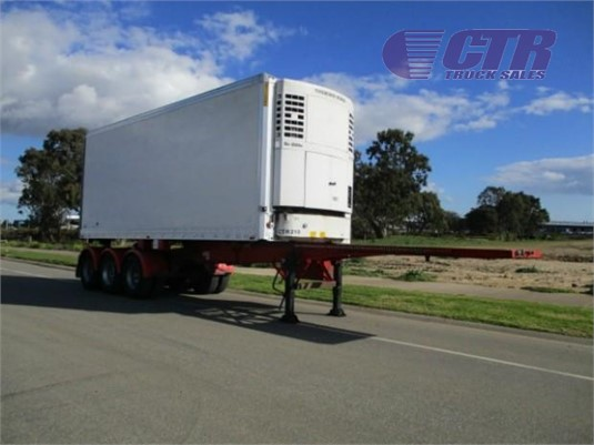 2004 Maxi Cube Refrigerated Trailer CTR Truck Sales - Trailers for Sale