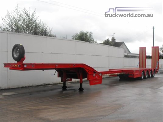 2019 Chieftain 4 Axle Semi Low Loader - Trailers for Sale