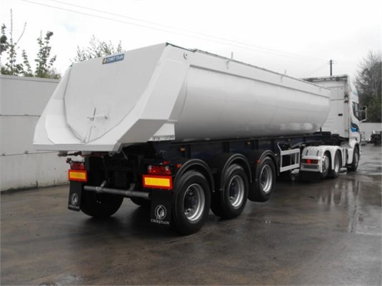 2019 Chieftain Half Pipe Tipper - Trailers for Sale