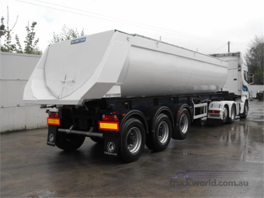 2019 Chieftain Half Pipe Tipper Trailers for Sale
