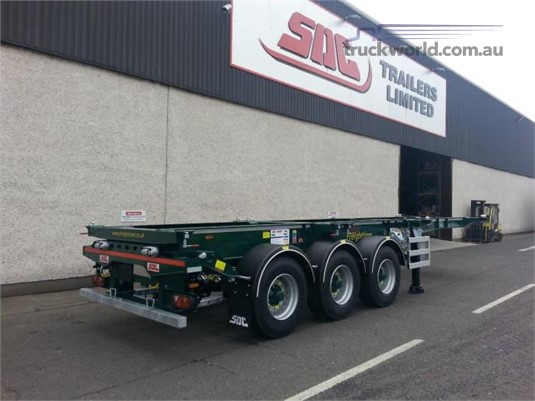 2019 SDC Skeletal Trailer - Trailers for Sale